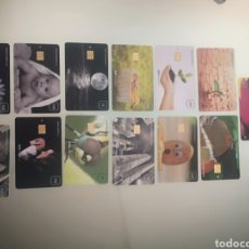 Tarjetas telefónicas de colección: 13 TARJETAS. Lote 269199783