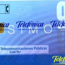 Tarjetas telefónicas de colección: TARJETA TELEFÓNICA NUEVA - SIMO 99 - 1099 - AÑO 1999 - TIRADA 6.500. Lote 269839878