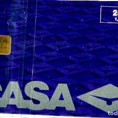 Tarjetas telefónicas de colección: TARJETA TELEFÓNICA USADA - AVION CASA C-295 - 0699 - AÑO 1999 - TIRADA 7.000. Lote 269851553