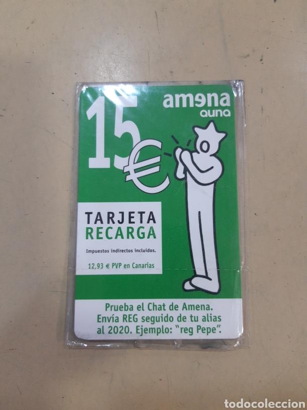 TARJETA RECARGA AMENA (Coleccionismo - Tarjetas Telefónicas)