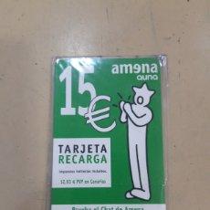 Tarjetas telefónicas de colección: TARJETA RECARGA AMENA. Lote 277493178