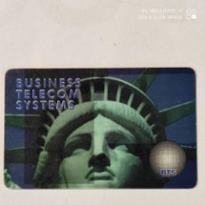 Tarjetas telefónicas de colección: BUSINESS TELECOM SYSTEM-----. Lote 287154373