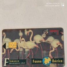 Tarjetas telefónicas de colección: TARJETA TELEFONICA-FAUNA IBERICA-FLAMENCOS-----. Lote 287155698
