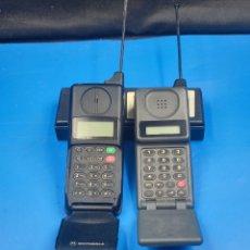 Tarjetas telefónicas de colección: 2 TELÉFONOS MICRO TAC + TARJETA TELEFONICA. Lote 287653358