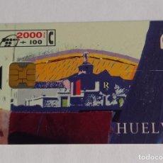 Tarjetas telefónicas de colección: TARJETA TELEFONICA HUELVA. Lote 288309538