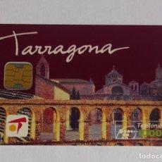 Tarjetas telefónicas de colección: TARJETA TELEFONICA TARRAGONA. Lote 288309723