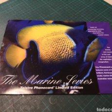 Tarjetas telefónicas de colección: THE MARINE SERIES. Lote 295336358