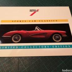 Tarjetas telefónicas de colección: SPORTS CAR CLASSICS. Lote 295341433