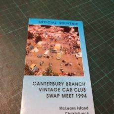 Tarjetas telefónicas de colección: VINTAGE CAR CLUB. Lote 295687133