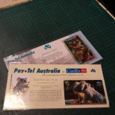 Tarjetas telefónicas de colección: AUSTRALIA'S KOALAS. Lote 295689133