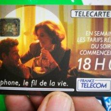 Tarjetas telefónicas de colección: TARJETA TELEFÓNICA TELECARTE 50 TELEPHONE LE FIL DE LA VIE FRANCE TELECOM. Lote 296581873