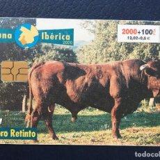 Tarjetas telefónicas de colección: TARJETA TELEFÓNICA FAUNA IBÉRICA. Lote 296601053