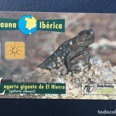 Tarjetas telefónicas de colección: TARJETA TELEFÓNICA FAUNA IBÉRICA. Lote 296601188