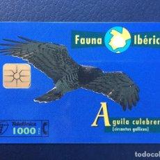 Tarjetas telefónicas de colección: TARJETA TELEFÓNICA FAUNA IBÉRICA. Lote 296601268