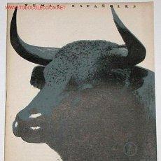 Tauromaquia: EL TORO BRAVO - TEMAS ESPAÑOLES - AÑOS 50. Lote 878102