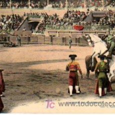 Tauromaquia: POSTAL FRANCESA DE CORRIDA DE TOROS , Nº4 UNE BONNE PIQUE. Lote 20805836
