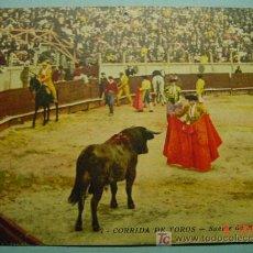 Tauromaquia: 1891 OCASION POSTAL TOROS TAUROMAQUIA PRINCIPIOS SIGLO XX PRECIOSA COSAS&CURIOSAS. Lote 3547041