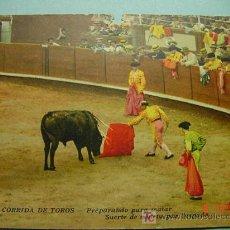 Tauromaquia: 1898 OCASION POSTAL TOROS TAUROMAQUIA PRINCIPIOS SIGLO XX PRECIOSA COSAS&CURIOSAS. Lote 3547082