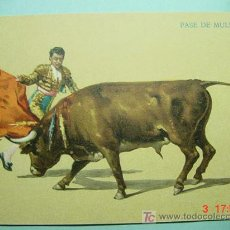 Tauromaquia: 1919 OCASION POSTAL TOROS TAUROMAQUIA PRINCIPIOS SIGLO XX PRECIOSA COSAS&CURIOSAS. Lote 4128594