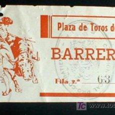 Tauromaquia: ENTRADA. PLAZA DE TOROS DE ECIJA.. ANTIGUA.. ENVIO GRATIS¡¡¡. Lote 4112657