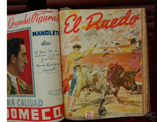Tauromaquia: EL RUEDO (1/601). ¡¡ IMPRESIONANTE COLECCION A PRECIO DE GANGA !! - Foto 2 - 26459464