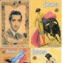 Tauromaquia: PRECIOSOS 4 CALENDARIOS DE BOLSILLO DE TAUROMAQUIA, TOROS, PINTURA, DEL TORERO MANOLETE!!!!!. Lote 98685516