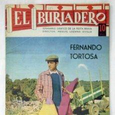 Tauromaquia: REVISTA EL BURLADERO Nº 184 FERNANDO TORTOSA AGOSTO 1967. Lote 8908805