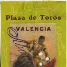 Tauromaquia: ENTRADA TOROS PLAZA DE VALENCIA , 22 JULIO 1964 ET23. Lote 9350814