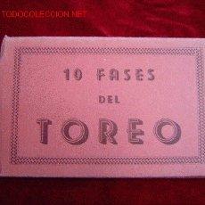 Tauromaquia: 10 FASES. Lote 13800474