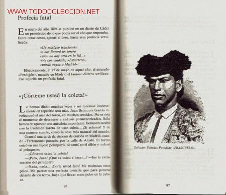 Tauromaquia: LA GENTE DEL TORO, DICHOS Y HECHOS - Foto 2 - 26771081