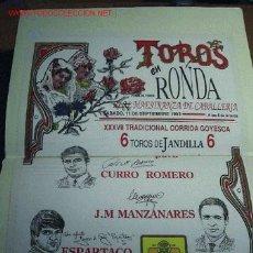 Tauromaquia: * TOROS * TAUROMAQUIA * CORRIDAS * EXCEPCIONAL CONJUNTO DE DOCUMENTACIÓN TAURINA (1983-1993). Lote 23522336