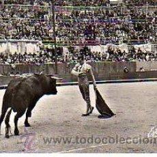 Tauromaquia: POSTAL UNA CORRIDA DE TOROS -MIGUEL DOMINGUIN-ARLES-FRANCIA -1967. Lote 11251089