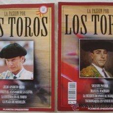 Tauromaquia: LA PASIÓN POR LOS TOROS - Nº 50 Y 58 - PLANETA-DEAGOSTINI - BARCELONA - TAUROMAQUIA. . Lote 15891670