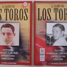 Tauromaquia: LA PASIÓN POR LOS TOROS - Nº 65 Y 69 - PLANETA-DEAGOSTINI - BARCELONA - TAUROMAQUIA. . Lote 21559244