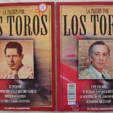 Tauromaquia: LA PASIÓN POR LOS TOROS - Nº 70 Y 73 - PLANETA-DEAGOSTINI - BARCELONA - TAUROMAQUIA. . Lote 15891671