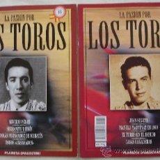 Tauromaquia: LA PASIÓN POR LOS TOROS - Nº 74 Y 76 - PLANETA-DEAGOSTINI - BARCELONA - TAUROMAQUIA. . Lote 19271360