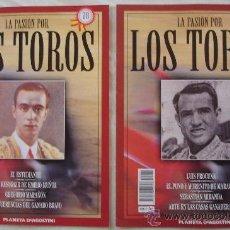 Tauromaquia: LA PASIÓN POR LOS TOROS - Nº 78 Y 79 - PLANETA-DEAGOSTINI - BARCELONA - TAUROMAQUIA. . Lote 12872929
