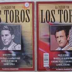 Tauromaquia: LA PASIÓN POR LOS TOROS - Nº 80 Y 82 - PLANETA-DEAGOSTINI - BARCELONA - TAUROMAQUIA. . Lote 19079205