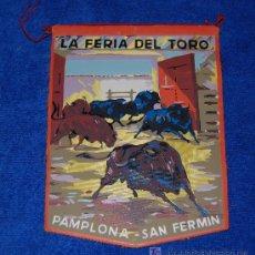 Tauromaquia: BANDERIN - LA FERIA DEL TORO - PAMPLONA - AÑOS 60. Lote 23889238