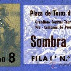 Tauromaquia: ENTRADA A PLAZA DE TOROS DE TARRAGONA - 1970 - TENDIDO 8 - SOMBRA.. Lote 12877178