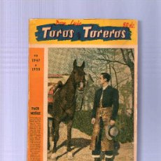 Tauromaquia: TOROS Y TOREROS EN 1947 A 1950. DON LUIS. 1951. 637 PÁG.. Lote 13160356