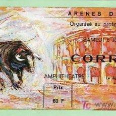 Tauromaquia: ARÈNES DE NIMES - FRANCIA - 6 DE JUNIO DE 1987 - ET294. Lote 13468689