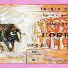 Tauromaquia: ARÈNES DE NIMES - FRANCIA - 7 DE JUNIO DE 1987 - ET296. Lote 13469794