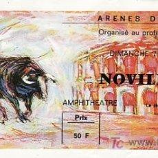 Tauromaquia: ARÈNES DE NIMES - FRANCIA - 7 DE JUNIO DE 1987 - ET297. Lote 13469800