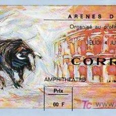Tauromaquia: ARÈNES DE NIMES - FRANCIA - 4 DE JUNIO DE 1987 - ET300. Lote 13469848