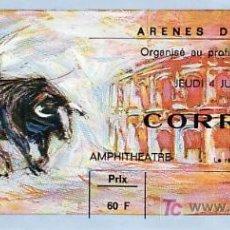 Tauromaquia: ARÈNES DE NIMES - FRANCIA - 4 DE JUNIO DE 1987 - ET301. Lote 13469865