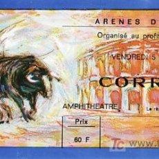 Tauromaquia: ARÈNES DE NIMES - FRANCIA - 5 DE JUNIO DE 1987 - ET302. Lote 13469876