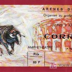 Tauromaquia: ARÈNES DE NIMES - FRANCIA - 8 DE JUNIO DE 1987 - ET304. Lote 13469906