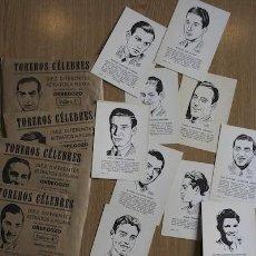 Tauromaquia: TOREROS CÉLEBRES. ORBEGOZO. Lote 21272095