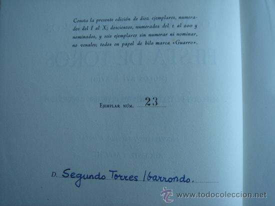 Tauromaquia: LOS VIAJEROS EXTRANJEROS Y LA FIESTA DE TOROS (SIGLOS XVI A XVIII). 1957. EJEMPLAR NUMERADO DE 200. - Foto 2 - 27188211
